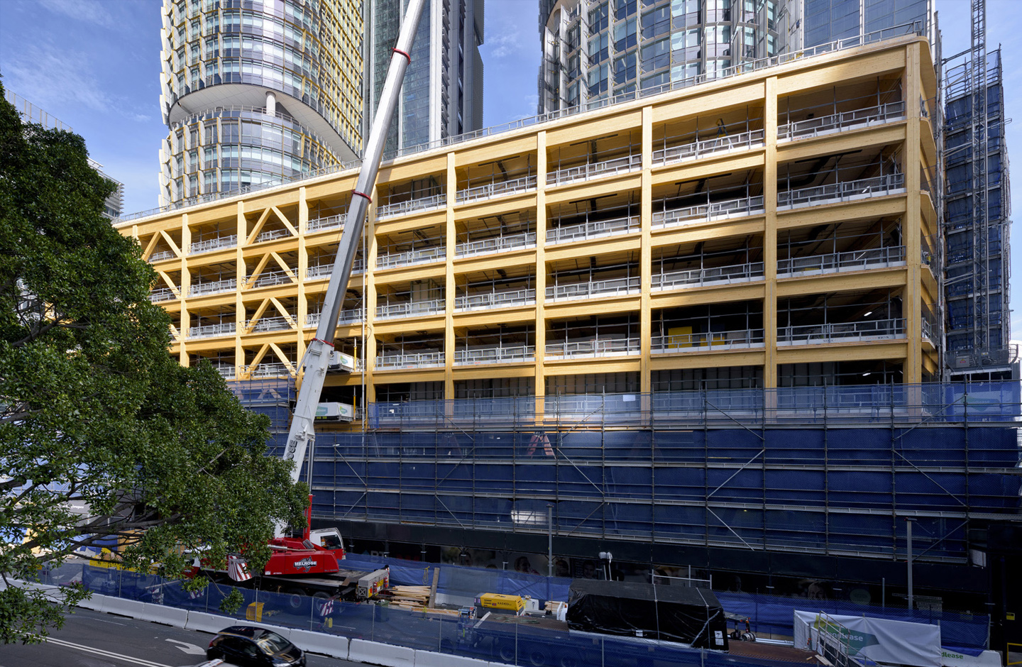 International House Sydney Wins The Australian Timber